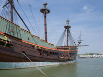 Batavia historic tall ship Stock Photos
