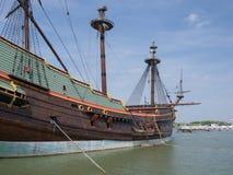 Batavia historic tall ship Stock Photos