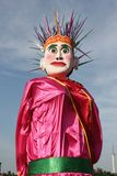 Batavia puppet (ondel-ondel) Royalty Free Stock Photo