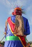 Batavia puppet (ondel-ondel) Royalty Free Stock Image