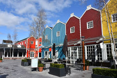 Batavia Stad Fashion Outlet Stock Images
