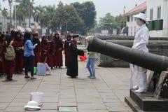 Batavia stado w Dżakarta Fotografia Royalty Free