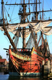 batavia starego statku Obraz Royalty Free