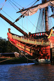 batavia starego statku zdjęcie royalty free