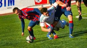 Bataysk 俄国 橄榄球场 2016年10月2日足球比赛t 库存图片