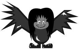 Batboy illustration stock