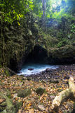 Batcave, Sangiang-Eiland, Banten indonesië Stock Fotografie
