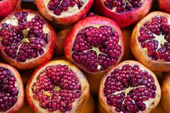 Pomegranates Stock Photo