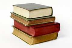 Batch of old books Royalty Free Stock Images