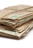Batch of old letters Stock Image