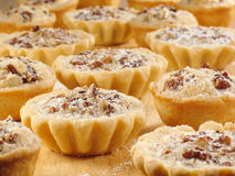 Batch of Pecan Tarts Stock Photo