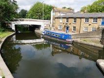 Batchworth Lock on the Grand Union Canal, Rickmansworth, Hertfordshire royalty free stock photos