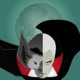 Batcula -妖怪例证 免版税库存图片