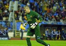 BATE della corrispondenza di gioco del calcio FC - FC Barcellona Fotografia Stock