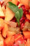 Bate-papo do fruto fotografia de stock