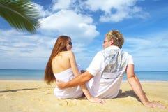 Bate-papo tropico Fotografia de Stock Royalty Free