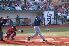 Bateador del béisbol Foto de archivo libre de regalías