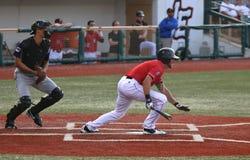 Bateador del béisbol Fotografía de archivo libre de regalías