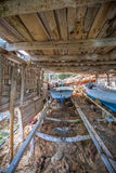 Bateau à Formentera, Espagne Photos stock