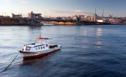 Bateau à Istanbul Image libre de droits