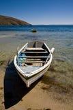 bateau à rames Images stock