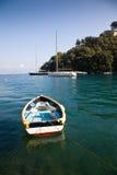 bateau à rames Photo libre de droits