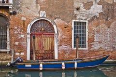 Bateau à Venise Image stock