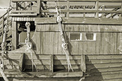 Bateau à voiles. Photo stock