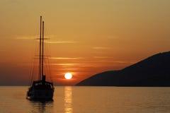 bateau à voiles Photos libres de droits