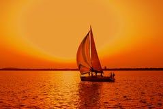 bateau à voiles Photo stock