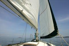 bateau à voiles Image stock
