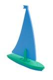 Bateau à voiles de jouet Images libres de droits