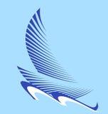 Bateau à voiles de logo Photos libres de droits