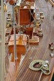 Bateau à voiles en bois Image libre de droits