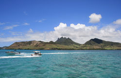 Bateau Îles Maurice Image libre de droits