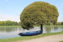 bateau Image libre de droits