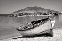 bateau abandonné Image libre de droits