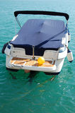 bateau accouplé Photo stock