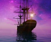 bateau antique Photos libres de droits