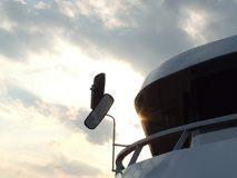 Bateau au lac Balaton photographie stock
