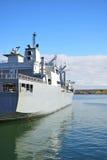 Bateau auxiliaire naval Photographie stock libre de droits