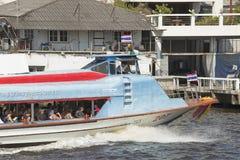 Bateau Bangkok Thaïlande d'autobus de l'eau Photographie stock