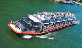 Free Bateau Bus In Paris, France Stock Image - 68391071