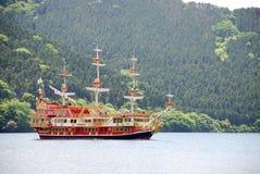 bateau classique de hakone de vitesse normale Photographie stock