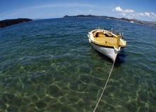 Bateau croate de Gajeta Images libres de droits