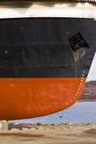 Bateau dans le dock sec Image libre de droits
