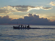 Bateau de Bali Photos libres de droits