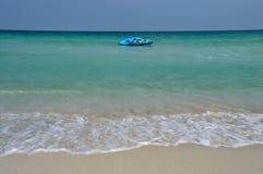 Bateau de banane de plage de Samui Image libre de droits