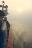 bateau de brouillard Photo libre de droits