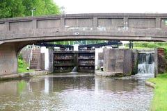 Bateau de canal Photos stock